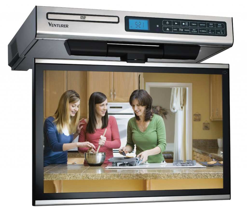 Looking for the best small tv for a kitchen the venturer for Looking for kitchen