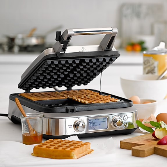 best rated waffle makers for thick and crispy waffles - Waring Pro Waffle Maker