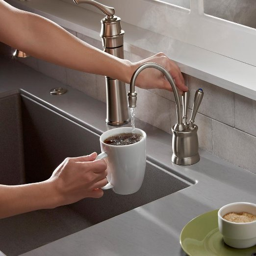 In Line Instant Hot Water : Insinkerator under sink instant hot cold water