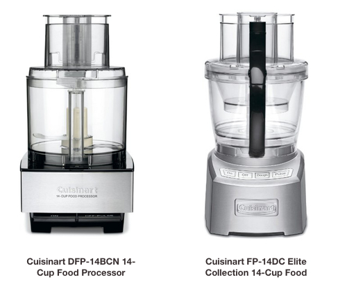 Cuisinart DFP 14BCNY 14 Cup Food Processor Brushed Stainless Steel