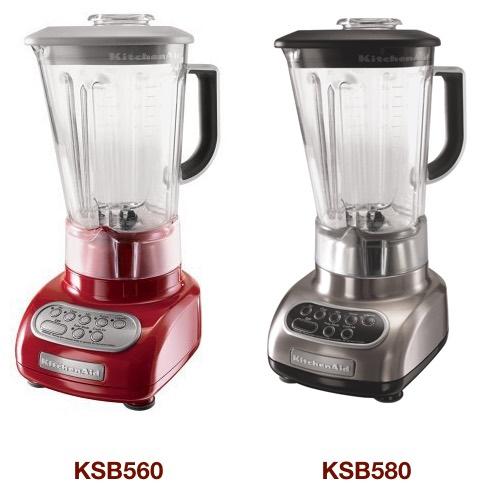 The Difference Between Kitchenaid Ksb560 Vs. Ksb580 5-Speed