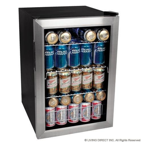 edgestar 84 can beverage cooler