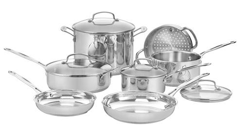 Cuisinart Kitchen Pro Aluminum  Piece Cookware Set