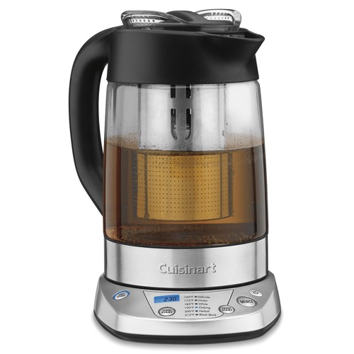best electric tea maker comparisons breville vs cuisinart vs chefman vs mr coffee super. Black Bedroom Furniture Sets. Home Design Ideas